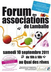 Affiche forum des associations de Lamballe 2011